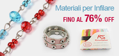 Materiali per Infilare FINO Al 76% OFF