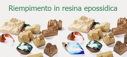 Riempimento in resina epossidica